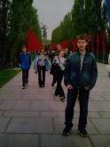 Максим Чечнев на Мамаевом кургане