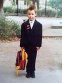 Максим Чечнев в школе