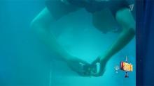Максим Чечнев и подводная сборка кубика